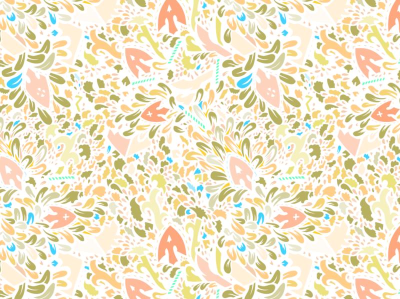 Pattern design #24 colorful surface pattern surface design pattern design patterns pattern adobe fresco vector ipad pro adobe illustrator apoka artwork illustration edouard artus