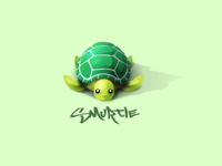Turtle Illustration Edouard Artus