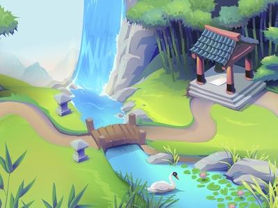 Game Background design