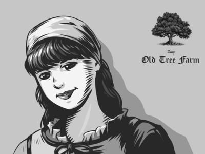 Old Tree - Character Illustration - Edouard Artus