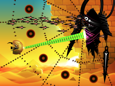 Boss fight for a shooting game