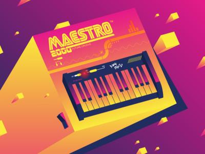 Ilustrative Keyboard fun