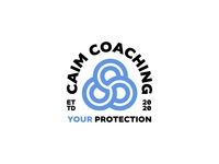 CAIM COACHING celtic gaelic brand design counselling emergency services first responders charity emblem badge brand identity logo icon crest branding