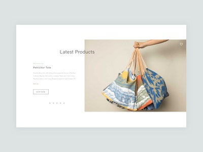 Product Carousel carousel ui minimal bags ecommerce shopping shop products