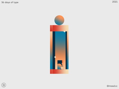 36 DaysofType i typography ux ui illustration letters animation colours motion design 2d