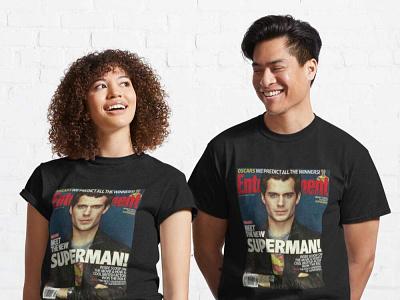 Henry Cavill Superman Classic Unisex T Shirt