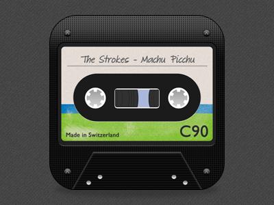 Alternative Music Icon music icon tape strokes theme ios iphone