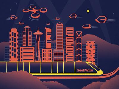 Geekwire Awards Poster
