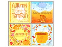 Autumn illusstrations