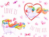 Valentines Day Unicorns