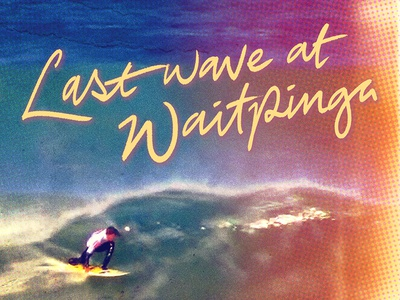 Last Wave at Waitpinga