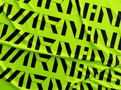 Warning! custom lettering custom type lettering g i n r a w mase brand emblem inspire illustration typography logotype letter monogram symbol logo