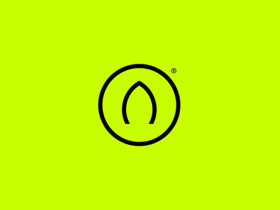 A eco nature leaf mark a typography emblem mase logotype letter monogram symbol logo