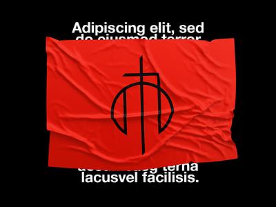 ♦️ anti religion atheism chrest omega circle a emblem typography brand logotype letter monogram symbol logo