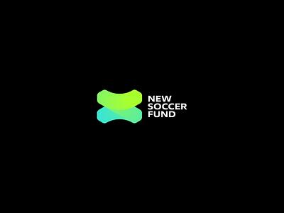 NSF Concept 1 fund soccer gradient brand mase logotype letter monogram symbol logo