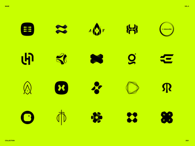 Collection Vol. 8 collection logofolio mark brand mase letter logotype monogram symbol logo