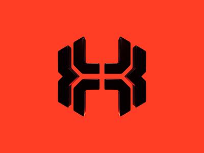 BodyHammer crossfit h b bh gym fitness sport brand mase blender letter logotype monogram symbol branding logo 3d