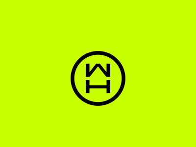 🤘 WearHaus brand identity branding clothing haus wear lettering w h hw wh mark letter mase monogram symbol logotype logo