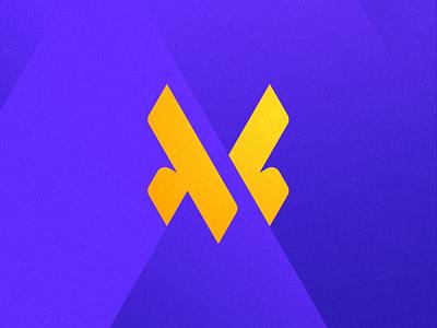 MV vm mv v m typography mase logotype letter symbol monogram logo