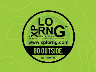 XPLORNG™ Sticker