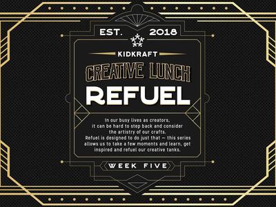 Refuel: Creative Lunch dallas kidkraft screen creative lunch refuel
