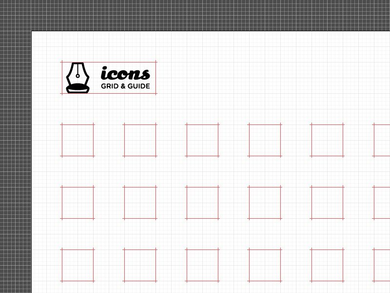 Free Download – Icon Set Grid and Guides icons glyphs ui design ux free download