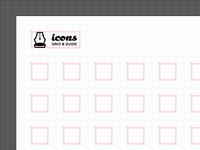 Free Download – Icon Set Grid and Guides