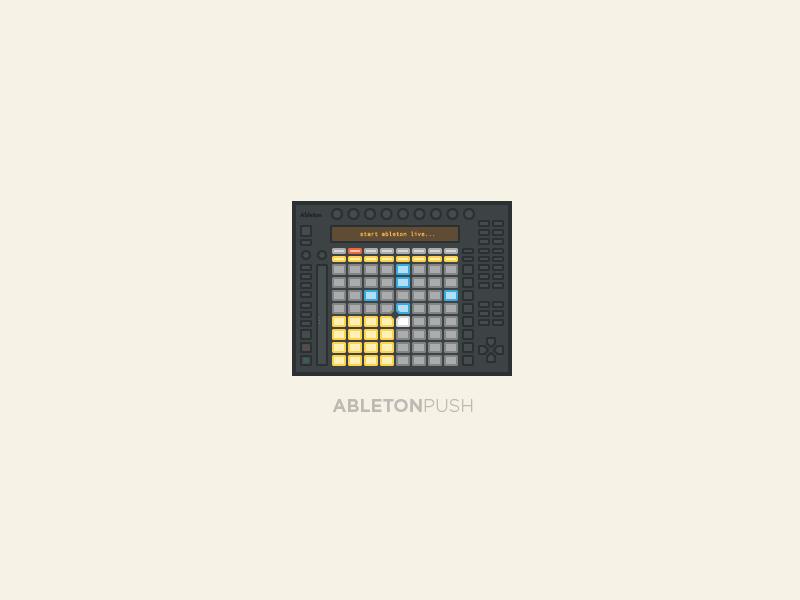 Ableton Push ableton push midi music production