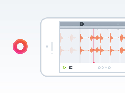 ODYO Sample Editor for iOS odyo recording sampling music warping looping cropping stretching ios iphone