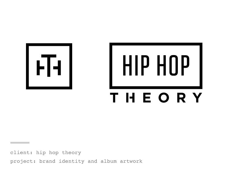 Hip Hop Theory branding brand design logo