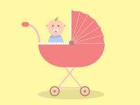 Baby ride!