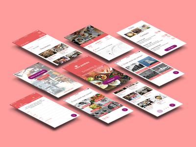 """Boa Pedida"" - Restaurant search app mobile ui app"