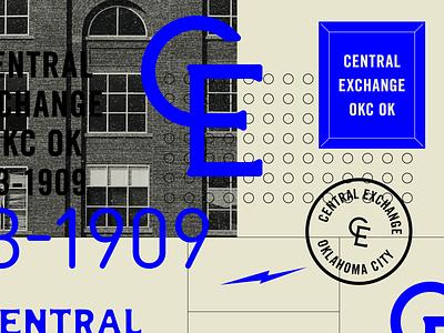 Central Exchange brand typography logo branding