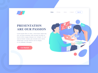 Presentation are our passion - Header Illustration