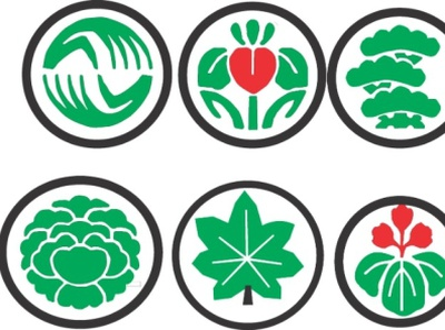DIFFERNT SHAPES logos branding logos