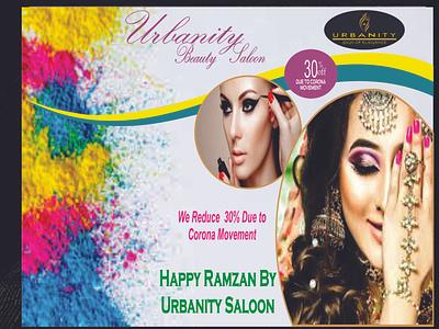 beauty saloon web banners banner design