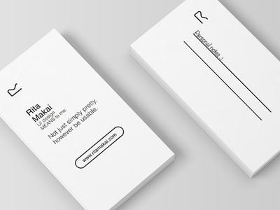 Personal branding - BC design helvetica minimal logo identity carddesign businesscard design branding