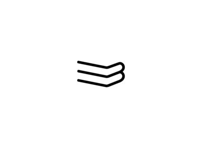 B+L = BOOKLOVE Minimal logo book minimallogo minimal branding logo