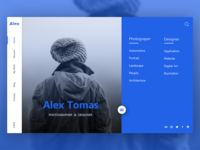 Personal Website (Home)