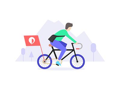 Cycling campaign pickme cycling landingpage