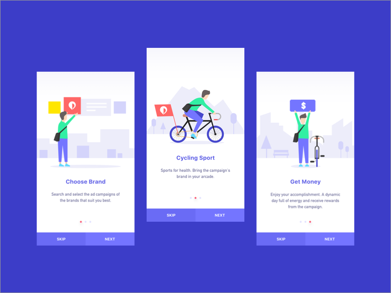 Onboarding Pickme app by Ha Truong