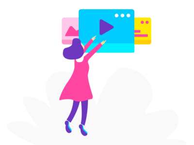 Choose a campaign onboarding illustration build campaign