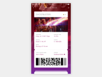 Movie Ticketing App Concept