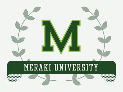 Meraki University Campaign Graphic