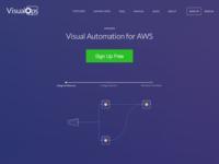 VisualOps.io Homepage Update
