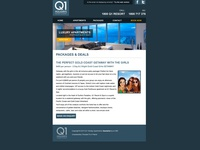 Q1 Holidays Gold Coast Email Newsletter