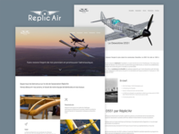 Réplic'air website