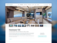 RS Yachts website