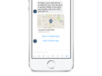Car Sharing On Messenger Platform