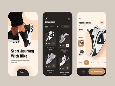 E-Commerce Mobile App buy sell cart apps onboarding splash screen photoshop figma creative online shop shop ecommerce shop clothing shoes application mobile app android ios app ecommerce